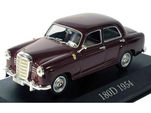 Mercedes Benz: 180D (1954) - Borgonha - 1:43 - Altaya