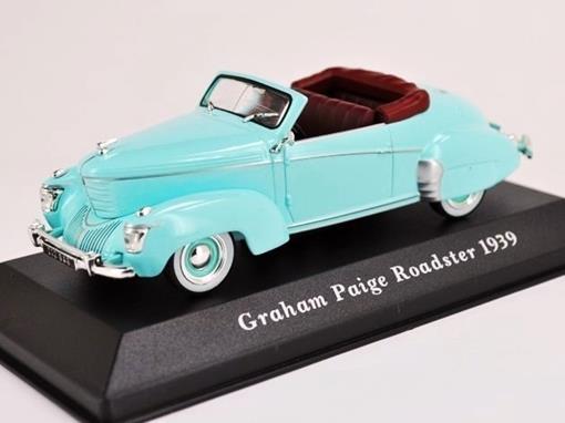 Graham: Paige Roadster (1939) - Verde - 1:43 - Altaya
