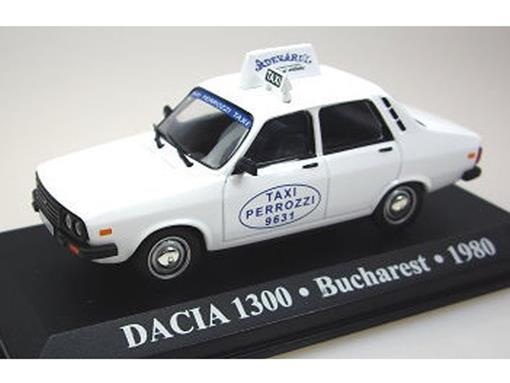 Táxi Dacia: 1300 - (Bucharest, 1980) - 1:43 - Altaya