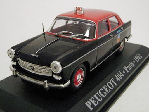 Taxi Peugeot: 404 - (Paris, 1962) - 1:43 - Altaya