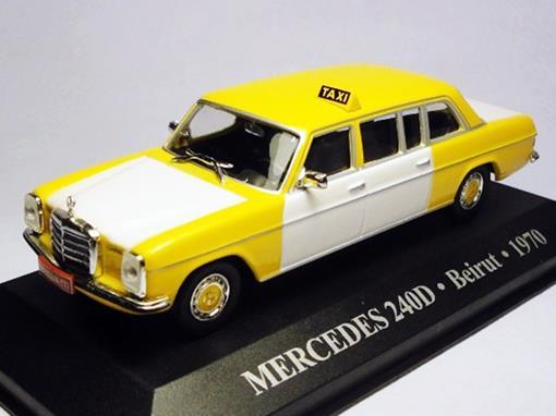 Táxi Mercedes 240D (Beirut 1970) - 1:43 - Altaya