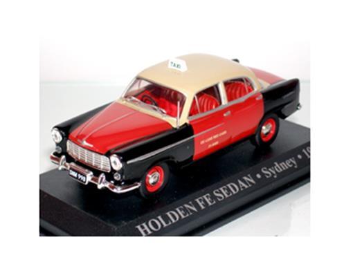 Taxi Holden: Fe Sedan - (Sydney, 1956) - 1:43 - Altaya