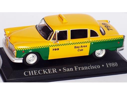 Táxi Checker (San Francisco 1980) - 1:43 - Altaya