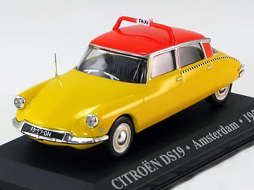 Táxi Citroen DS19 (Amsterdã 1958) - 1:43 - Altaya