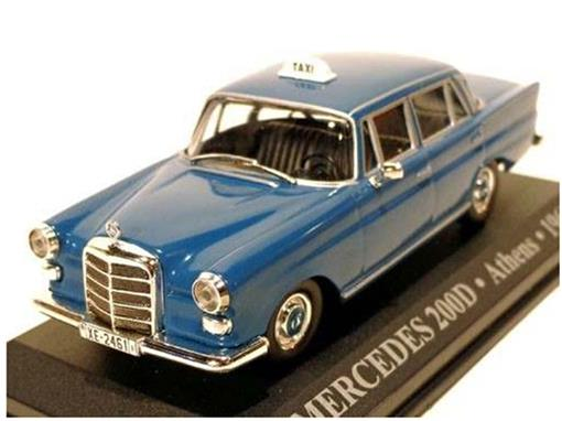 Taxi Mercedes: 200D - (Athens, 1965) - 1:43 - Altaya