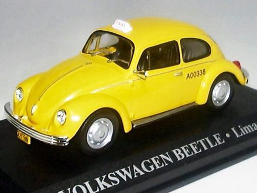Táxi Volkswagen Beetle (Lima 1970) - 1:43 - Altaya