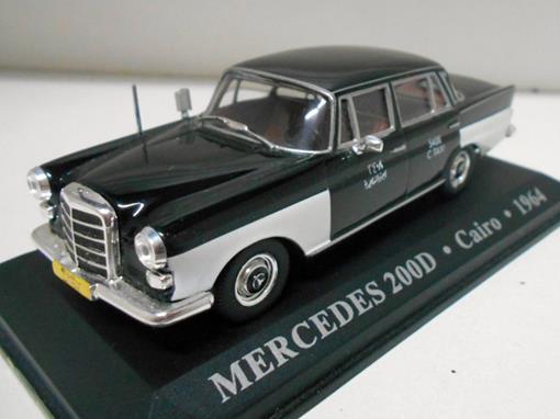 Taxi Mercedes: 200D - (Cairo, 1964) - 1:43 - Altaya