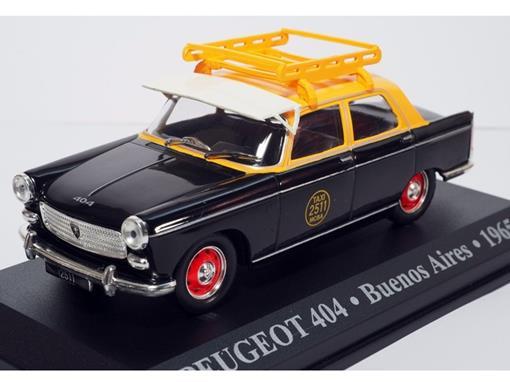 Táxi Peugeot: 404 - (Buenos Aires, 1965) - 1:43 - Altaya
