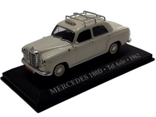 Taxi Mercedes: 180D - (Tel Aviv, 1962) - 1:43 - Altaya
