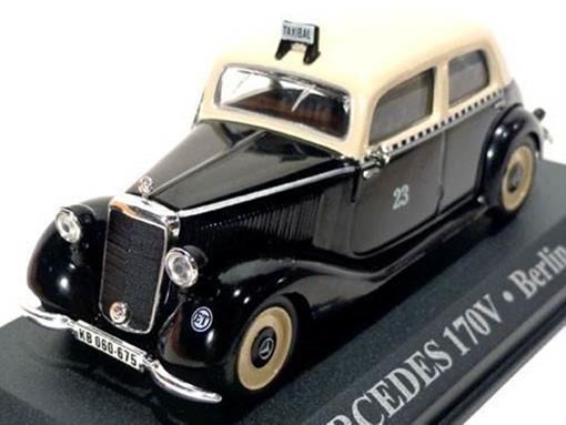 Taxi Mercedes: 170V - (Berlin, 1952) - 1:43 - Altaya