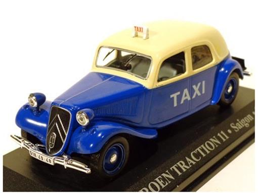 Taxi Citroen: Traction 11 - (Saigon, 1955) - 1:43 - Altaya