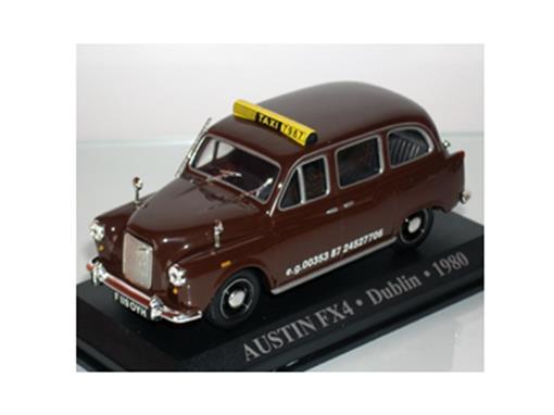 Taxi Austin: FX4 - (Dublin,1980) - 1:43 - Altaya