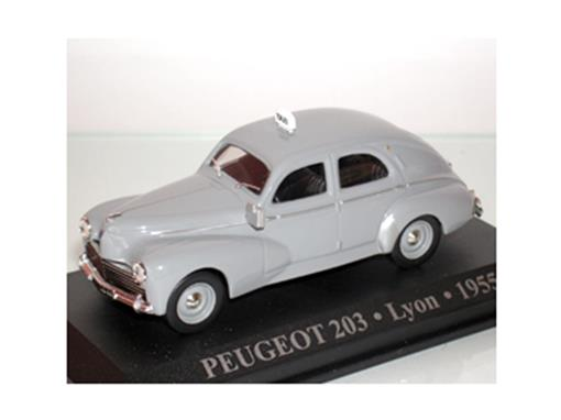 Taxi Peugeot: 203 - (Lyon, 1955)  -1:43 - Altaya