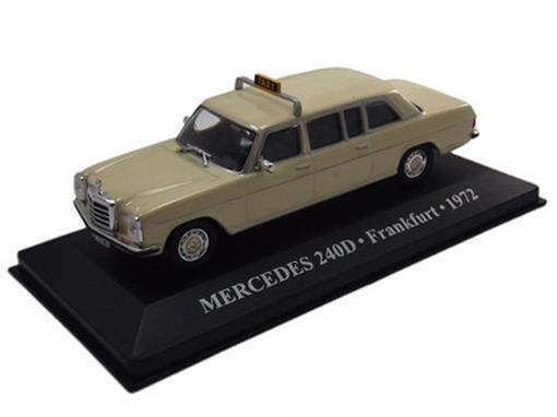 Taxi Mercedes: 240D - (Frankfurt, 1972) - 1:43 - Altaya