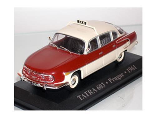 Taxi tatra: 603 - (Prague, 1961) - 1:43 - Altaya