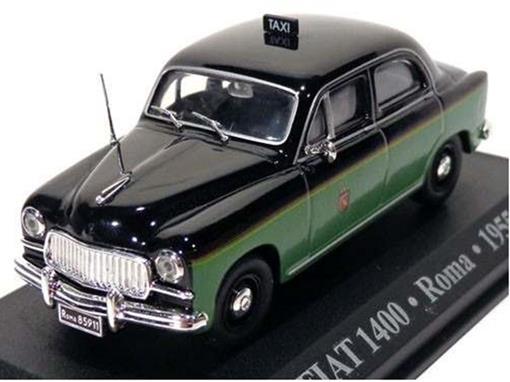 Taxi Fiat: 1400 - (Roma, 1955) - 1:43 - Altaya