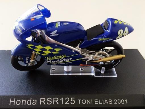 Honda: RSR125 - Toni Elias (2001) - 1:24 - Altaya
