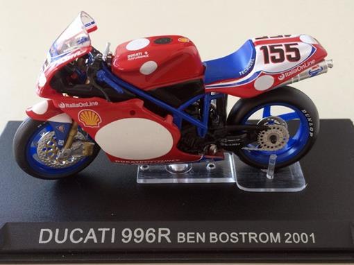 Ducati: 996R (2001) - Ben Bostrom #155 - 1:24 - Altaya