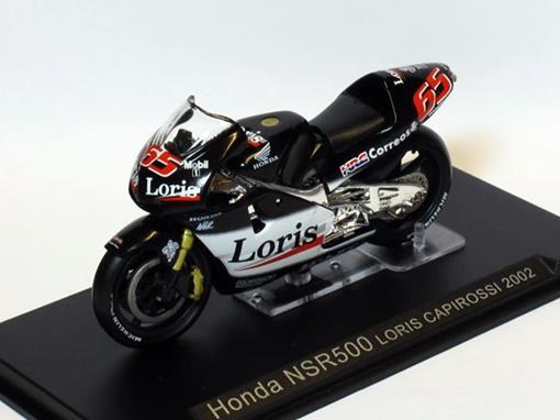 Honda: NSR500 - Loris Capirossi - Moto GP 2002 - 1:24 - Altaya