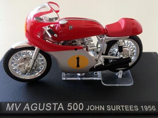 Mv Agusta: 500 (1956) - John Surtees #1 - 1:24 - Altaya