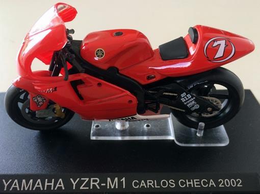 Yamaha: YZR-M1 - Carlos Checa - Moto GP 2002 - 1:24 - Altaya