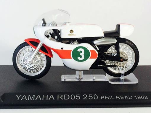 Yamaha: RD05 250 (1968) - Phil Read #3 - 1:24 - Altaya
