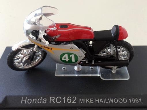 Honda: RC162 (1961) - Mike Hailwood #41 - 1:24 - Altaya