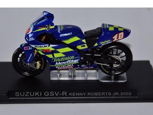Suzuki: Gsv-R (2002) - Kenny Roberts Jr #10 - 1:24 - Altaya
