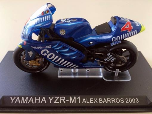 Yamaha: Yzr-M1 (2003) - Alex Barros - 1:24 - Altaya