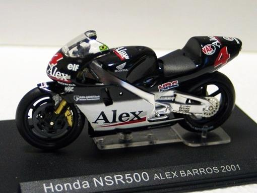 Honda: NSR500 - Alex Barros (2001) - 1:24 - Altaya