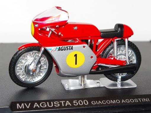 MV Agusta: 500 - Giacomo Agostini (1967) - 1:24 - Altaya