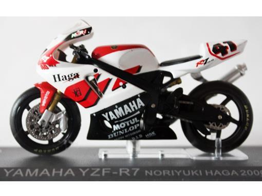 Yamaha: YZF-R7 - Noriyuki Haga (2000) - 1:24 - Altaya