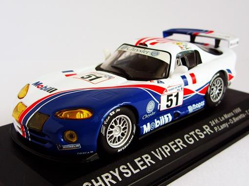 Chrysler: Viper GTS-R - 24h Le Mans (1998) - 1:43 - Del Prado