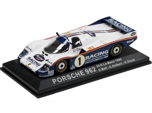 Porsche: 962 - #1 Bell / Holbert / Stuck - 24h Le Mans (1986) - 1:43 - Del Prado