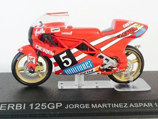 Derbi:125gp (1988) - Jorge Martinez Aspar #5 - 1:24 - Altaya