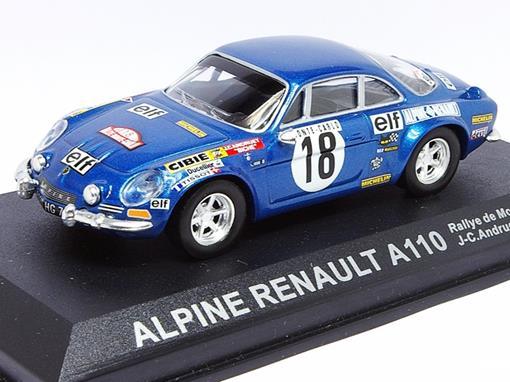 Renault: Alpine A110 - #18 Rallye de Montecarlo (1973) - 1:43 - Del Prado