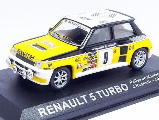Renault: 5 Turbo - #9 Rallye de Montecarlo (1981) - 1:43 - Del Prado