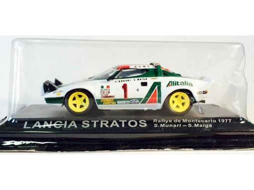 Lancia: Stratos - #1 Munari / Maiga - Rallye de Montecarlo (1977) - 1:43 - Del Prado