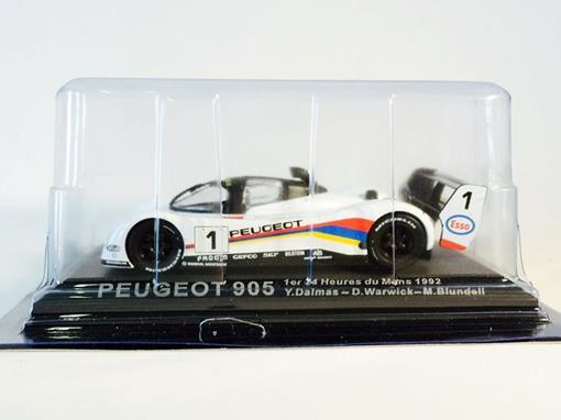 Peugeot: 905 - #1 24h Le Mans (1992) - 1:43 - Del Prado