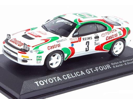 Toyota: Celica GT-Four - Rallye de Montecarlo (1993) - 1:43 - Del Prado
