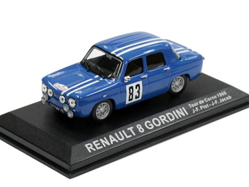 Renault: 8 Gordini - #83 Piot / Jacob - Tour de Corse (1966) - 1:43 - Del Prado