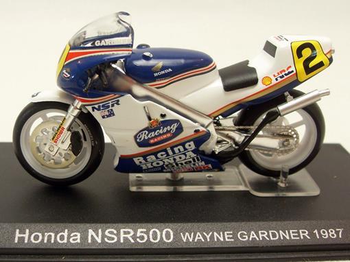 Honda: NSR500 (1987) - Wayne Gardner #2 - 1:24 - Altaya