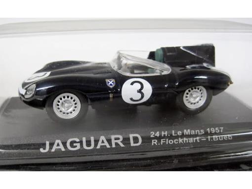Jaguar: D - #3 R. Flockhart / L. Bueb - 24h Le Mans (1957) - 1:43 - Del Prado
