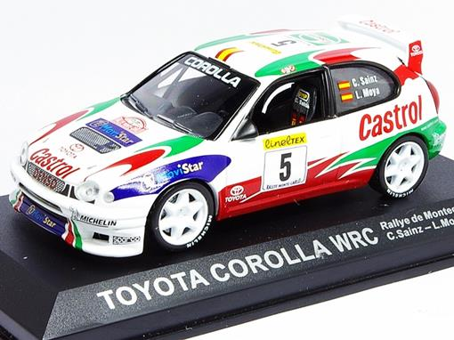 Toyota: Corolla WRC - #5 Rallye de Montecarlo (1998) - 1:43 - Del Prado