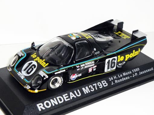 Rondeau: M379B - #16 24h Le Mans (1980) - 1:43 - Del Prado