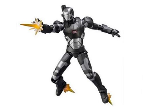 Boneco Iron Man War Machine Mark II - Avengers Age Of Ultron - S.H.Figuarts - Bandai