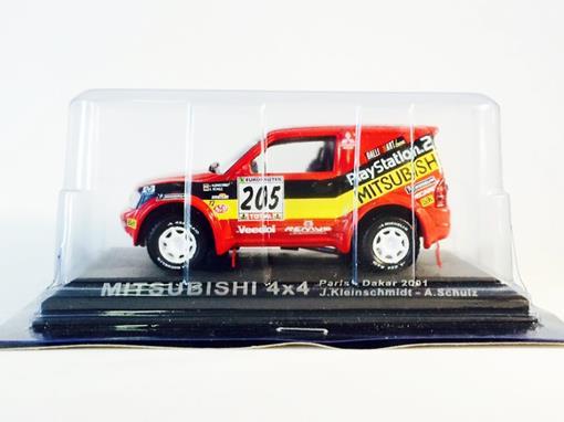 Mitsubishi: 4x4 - Paris - Dakkar (2001) - 1:43 - Del Prado