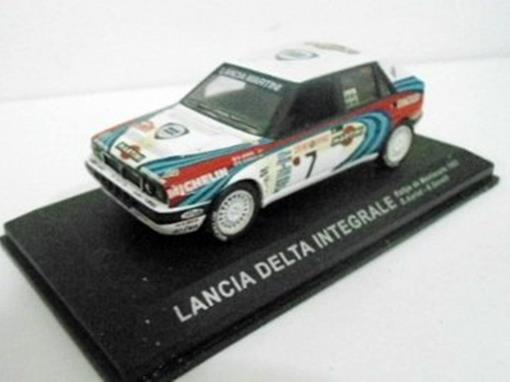 Lancia: Delta Integrale - Rallye de Montecarlo (1990) - 1:43 - Del Prado