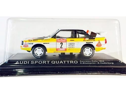 Audi: Sport Quattro - #2 Sanremo Rally (1984) - 1:43 - Del Prado