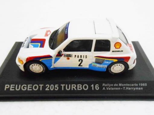 Peugeot: 205 Turbo 16 - #2 Rallye de Montecarlo (1985) - 1:43 - Del Prado